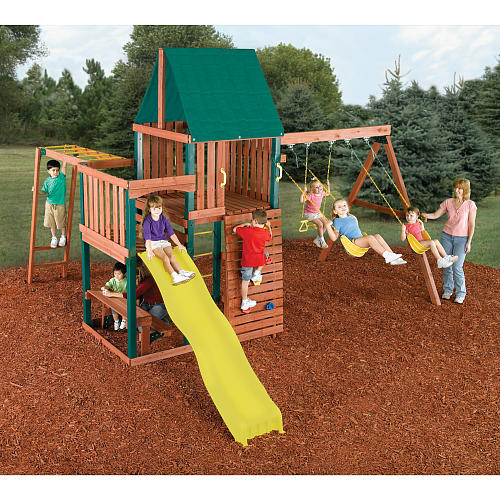 The Honey Do Man Swingsets Playsets